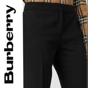 Burberry 🍀Black Trousers/ Pants - Size 4
